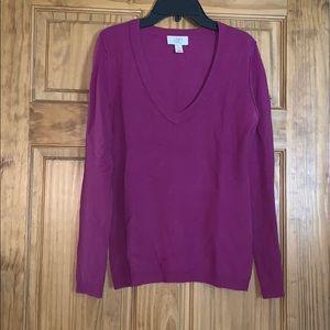 Ann Taylor loft cashmere sweater
